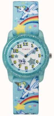 Timex Análogo de arco-íris verde-oliva 28mm TW7C256004E