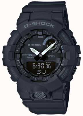 Casio G-shock bluetooth rastreador de fitness passo preto GBA-800-1AER