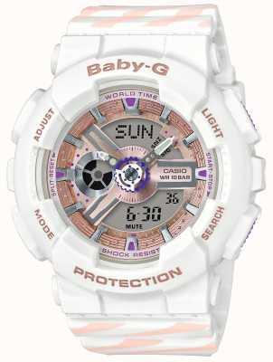 Casio Cronógrafo de alarme baby-g chance BA-110CH-7AER