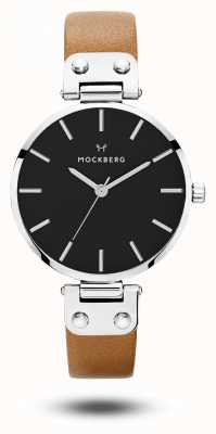 Mockberg Bracelete wera preto com pulseira marrom preta para mulher MO112