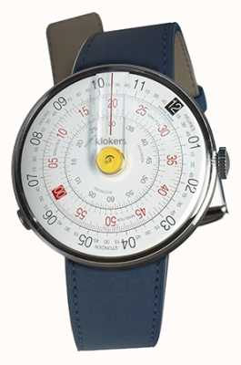 Klokers Klok 01 amarelo assistir head indigo blue single strap KLOK-01-D1+KLINK-01-MC3