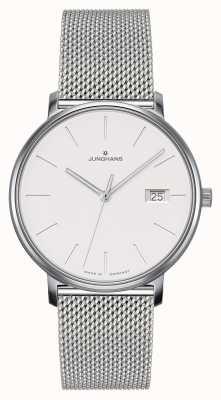 Junghans Forme um relógio de cinta de malha de aço 047/4851.44