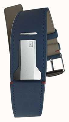 Klokers Klink 01 alça azul índigo apenas 22mm de largura 230mm de comprimento KLINK-01-MC3