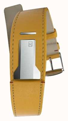 Klokers Klink 01 newport pulseira amarela apenas 22mm de largura 230mm de comprimento KLINK-01-MC7.1