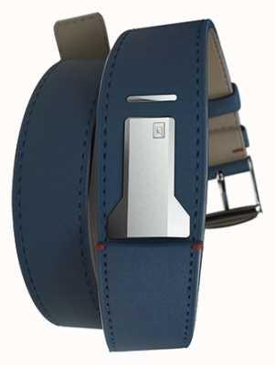 Klokers Klink 02 indigo azul alça dupla apenas 22 mm de largura 420 mm de comprimento KLINK-02-420C3