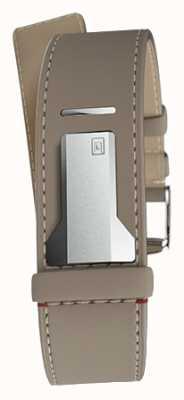 Klokers Klink 04 grege alça única reta apenas 22mm de largura 230mm KLINK-04-LC9
