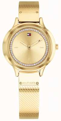 Tommy Hilfiger Relógio olivia gold tone de mulher 1781910