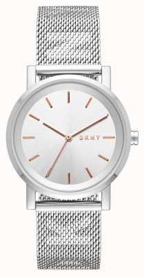 DKNY Womens soho cinta de aço inoxidável NY2620