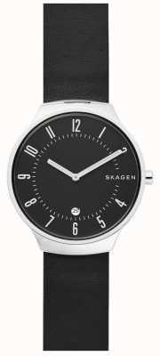 Skagen Alça de couro freja SKW2669