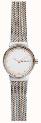 Skagen Bracelete de aço inoxidável para mulher SKW2699