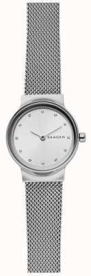 Skagen Cinta de malha de aço inoxidável para mulher SKW2715