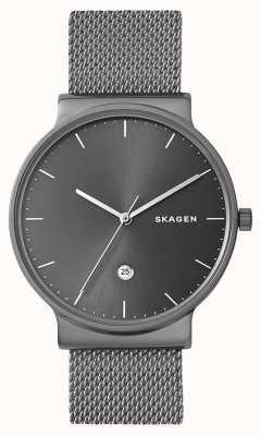 Skagen Mens ancher cinta de malha de aço inoxidável SKW6432