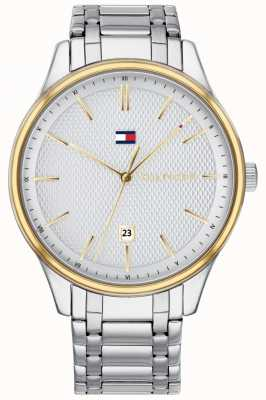 Tommy Hilfiger Mens damon relógio de aço inoxidável 1791491