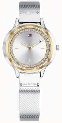 Tommy Hilfiger Relógio de aço inoxidável para mulher olivia 1781912