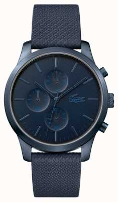 Lacoste Mens 12.12 85th aniversário azul escuro relógio 2010948