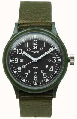 Timex Relógio de cinta de nylon das mulheres mk1 36mm TW2P88400