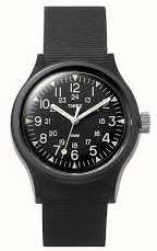 Timex Relógio de cinta de nylon das mulheres mk1 36mm TW2R13800