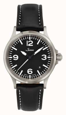 Sinn 556 uma pulseira de couro de safira esportes vidro 556.014-BL41201834001110403A