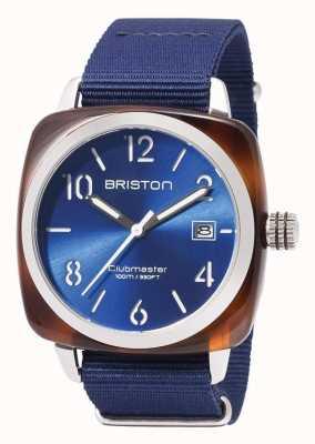 Briston Clubmaster esporte ícones azul cinta 17142.SA.TS.9.NNB