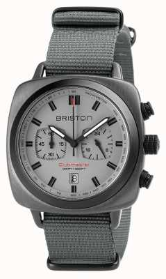 Briston Clubmaster sport nato cinta cinza 18142.SPG.SP.12.NG