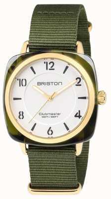 Briston Dial verde chique clubmaster branco 18536.PYA.TG.2.NGA