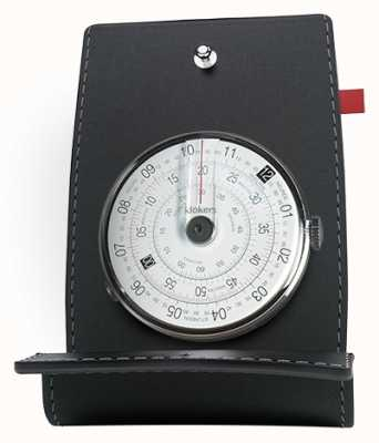 Klokers Klok 01 mesa de cabeça preta de relógio e bolso KLOK-01-D2+KPART-01-C2