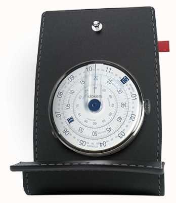 Klokers Klok 01 mesa de cabeça de relógio azul e bolso KLOK-01-D4.1+KPART-01-C2
