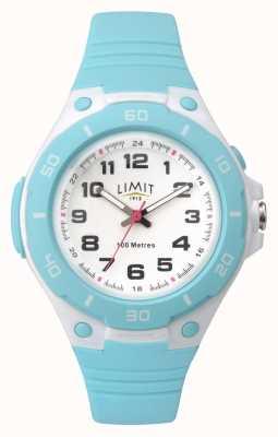 Limit Relógio de esportes analógico azul ciano das mulheres 5698.71
