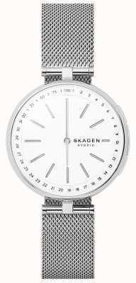 Skagen Signatur conectado malha de aço inoxidável relógio inteligente SKT1400