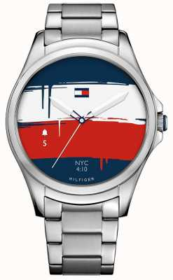 Tommy Hilfiger Smartwatch unisex do desgaste do andróide do bluetooth 1791405