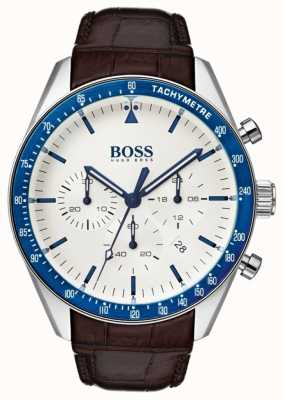 Boss Mens branco troféu 1513629