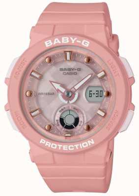 Casio Viajante de praia baby-g pink strap BGA-250-4AER