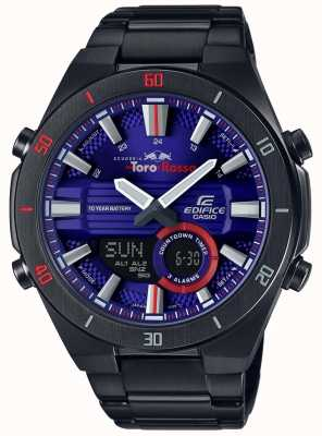 Casio Edifício toro rosso ip preto banhado a data do dia ERA-110TR-2AER