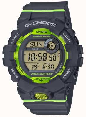 Casio G-squad cinza verde digital bluetooth rastreador passo GBD-800-8ER