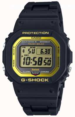 Casio G-shock bluetooth rádio controlado banda composto preto / yel GW-B5600BC-1ER