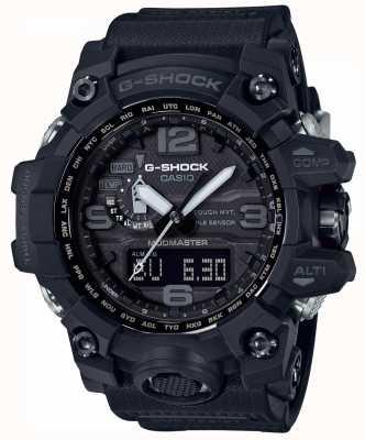Casio G-shock premium mudmaster pulseira preta controlada por rádio GWG-1000-1A1ER