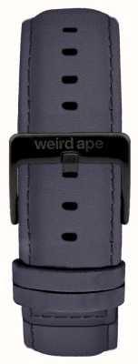 Weird Ape Fivela preta de camurça violeta 20mm com fivela preta ST01-000079