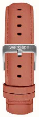 Weird Ape Rosa camurça rosa 16mm cinta prata fivela ST01-000052