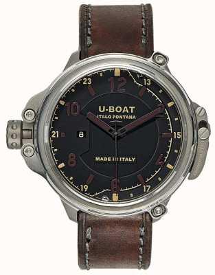 U-Boat Cápsula de edição limitada 50 preto 7469