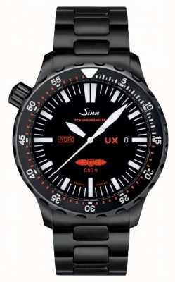 Sinn Ux s gsg 9 pulseira pvd 5000m resistente à água 403.062 PVD BRACELET