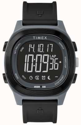 Timex Homem de ferro preto essencial relógio com display negativo TW5M19000SU