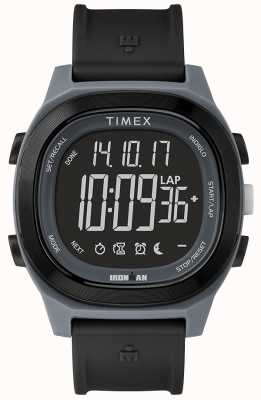 Timex Homem de ferro essencial preto relógio envoltório rápido TW5M19300SU