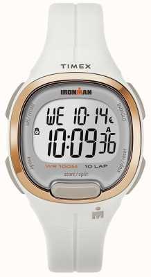 Timex Homem de ferro essencial branco e rosa relógio de ouro TW5M19900SU