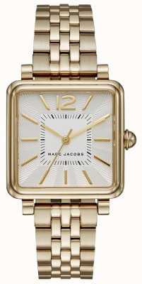 Marc Jacobs Mulheres vic watch gold tone pulseira quadrada de discagem MJ3462