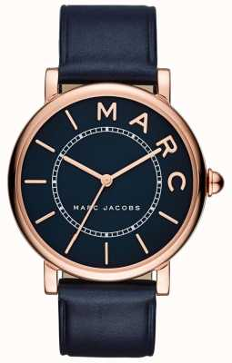 Marc Jacobs Couro clássico da marinha do relógio das marc jacobs das mulheres MJ1534
