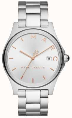 Marc Jacobs Womens henry assistir tom de prata MJ3583