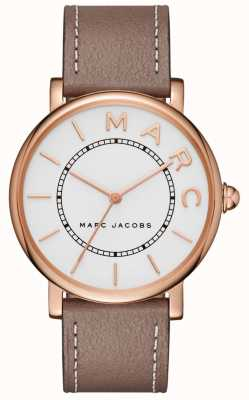 Marc Jacobs Relógio clássico de marc jacobs womens cinza couro MJ1533