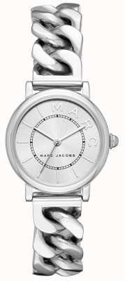 Marc Jacobs Tom de prata do relógio clássico das mulheres marc jacobs MJ3593