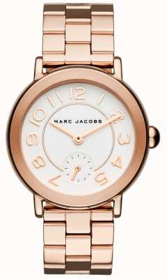 Marc Jacobs Womens riley assista rosa tom de ouro MJ3471