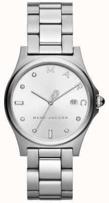 Marc Jacobs Womens henry assistir tom de prata MJ3599